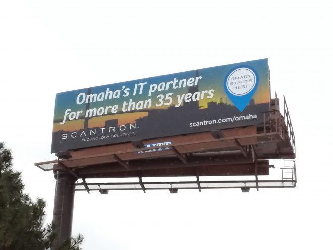 Billboard at Bob Boozer and 156th Street
