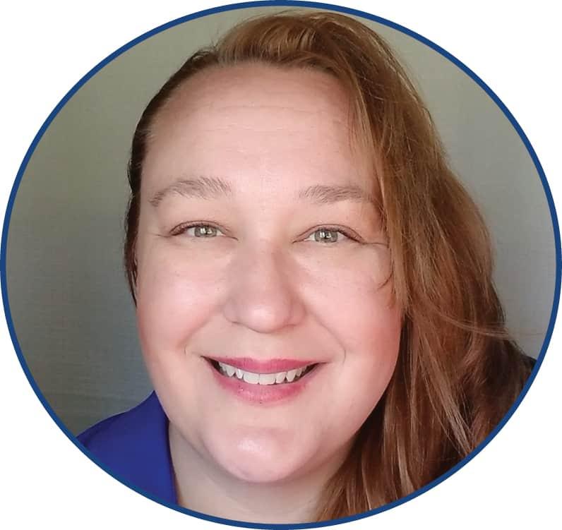 Jennifer Neal [circle image of smiling woman's face]