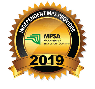 Managed Print Services Association Best Independent service provider 2019