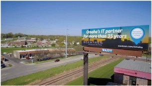 Image of Scantron billboard in Omaha, NE