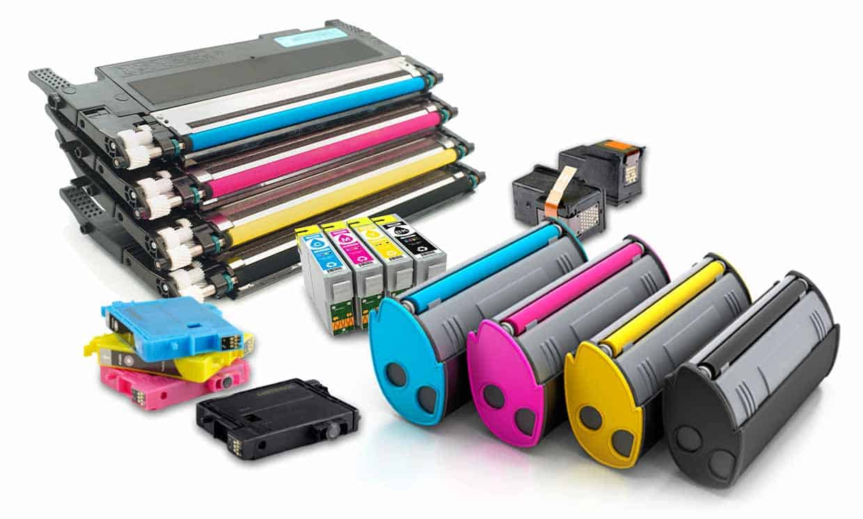 Ink and toner cartridges from a variety of manufacturers