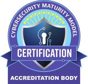 Cybersecurity Maturity Model Accreditation Body Logo